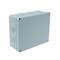 Boîte de dérivation électrique étanche IP55 rectangulaire long.210mm larg.170mm haut.80mm coloris gris - Gedimat.fr