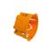Boîte d'encastrement électrique pour cloison creuse 1 poste diam.85mm haut.50mm sous film 1 pièce - Gedimat.fr
