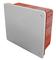 Boite de dérivation à encastrer pour cloison creuse dim.118x96mm profondeur 50mm - Gedimat.fr