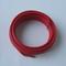 Câble électrique rigide unifilaire H07VU diam.6mm² coloris rouge en couronne de 5m - Gedimat.fr