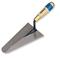 Truelle italienne ronde acier manche bois CAZZUOLA long.20cm - Gedimat.fr
