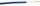 Câble électrique unifilaire cuivre H07VU section 1,5mm² coloris bleu en bobine de 25m - Gedimat.fr
