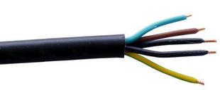 Câble électrique rigide R2V 5G2,5mm² coloris noir vendu à la coupe au ml - Gedimat.fr