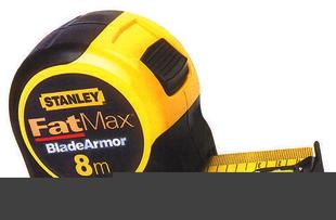 Mesure boitier bi-matière antichoc ruban larg.32 mm long.8 m STANLEY - Gedimat.fr