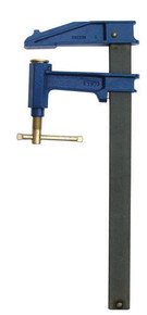 Serre-joints à pompe saillie de 150 section 40x10 serrage 1500 mm - Gedimat.fr