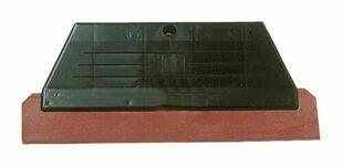 Raclette de faïencier caoutchouc dur long.28cm rouge - Gedimat.fr