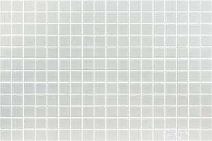 Emaux de verre de 2,5x2,5cm pour mur et piscine LISA sur trame de 31,1x46,7cm coloris blanco - Gedimat.fr