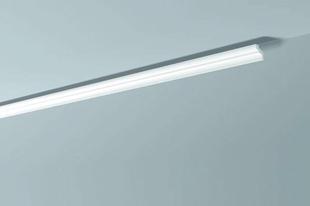 Moulure extrudée en polystyrène haute densité 35x55mm long.2,00m ton blanc - Gedimat.fr
