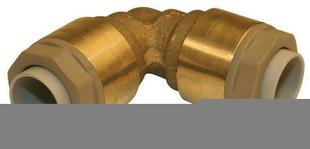 Coude équerre RSO égal pour tube cuivre diam.12mm sous coque de 1 pièce - Gedimat.fr