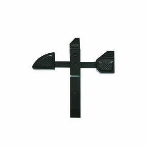 Arrêt de grille à bascule pour une épaisseur de portail maxi de 45mm - Gedimat.fr