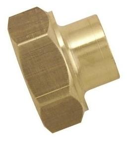 Manchon laiton brut fer/cuivre 270GCU femelle à visser diam.15x21mm à souder diam.16mm en vrac 1 pièce - Gedimat.fr