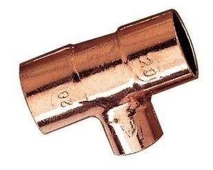 Té à souder cuivre réduit femelle femelle 5130A diam.22-16-22mm en vrac 1 pièce - Gedimat.fr