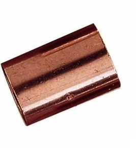Manchon cuivre à souder femelle femelle égal diam.40mm en vrac 1 pièce - Gedimat.fr