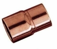 Manchon cuivre à souder femelle femelle réduit diam.28-16mm en vrac 1 pièce - Gedimat.fr