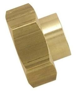 Raccord laiton 2 pièces à écrou mobile diam.20x27 mm pour tube cuivre diam.14mm en vrac 1 pièce - Gedimat.fr