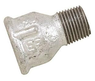 Mamelon acier galvanisé 246 femelle diam.15x21mm réduit mâle diam.12x17mm - Gedimat.fr