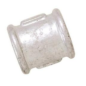 Manchon acier galvanisé 270 égal femelle femelle à butée diam.15x21 en vrac 1 pièce - Gedimat.fr