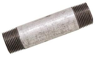 Bobine tube acier galvanisé fileté diam.26x34mm long.1m en vrac 1 pièce - Gedimat.fr