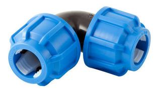 Coude polyéthylène plastique égal diam.tube 20mm - Gedimat.fr