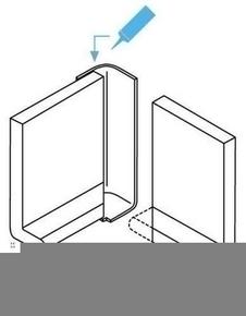 Angle ext rieur pour planche de rive pvc cellulaire for Planche pvc exterieur