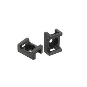 Embase adhésive pour collier de fixation larg.9mm en sachet de 20 pièces - Gedimat.fr