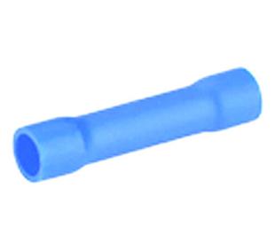 Manchon électrique à sertir femelle pré-isolé section 1,5 à 2,5mm² coloris bleu 10 pièces - Gedimat.fr