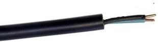 Câble électrique rigide R2V 2x1,5mm² coloris noir vendu à la coupe au ml - Gedimat.fr