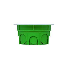 Boîte de dérivation ronde avec couvercle pour maçonnerie diam.60mm haut.40mm sous film 1 pièce - Gedimat.fr