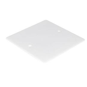 Couvercle carré pour boîte d'encastrement dim.120x120mm sous film 1 pièce - Gedimat.fr