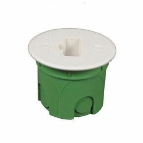 Boîte luminaire pour maçonnerie applique équipée d'une fiche DCL diam.40mm sous film 1 pièce - Gedimat.fr