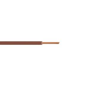 Câble électrique unifilaire cuivre H07VU section 1,5mm² coloris marron en bobine de 25m - Gedimat.fr
