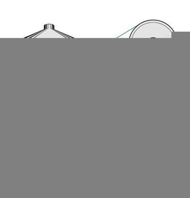 Pointe torsadée diam.4mm long.60mm, galvachaud, tête parapluie, pour fixation des tuiles sur bois - boite de 100 pièces - Gedimat.fr
