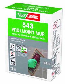 Joint de carrelage PROLIJOINT MUR 543 sac de 2,5kg coloris gris - Gedimat.fr