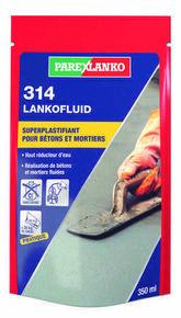 Superplastifiant - Haut réducteur d'eau 314 LANKOFLUID 350ML - Gedimat.fr