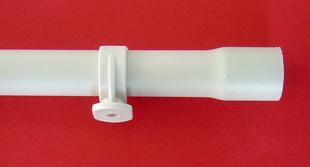 Attache de fixation type clips coloris gris diam.16mm en sachet de 15 pièces - Gedimat.fr