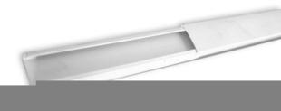 Moulure de distribution pour câble électrique larg.20mm haut.10mm coloris blanc long.2m - Gedimat.fr