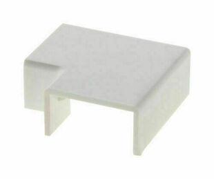 Raccord d'angle de mur plat pour moulure larg.20mm haut.10mm coloris blanc en sachet de 4 pièces - Gedimat.fr
