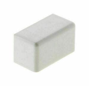 Embout pour moulure larg.20mm haut.10mm coloris blanc en sachet de 4 pièces - Gedimat.fr