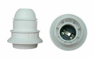 Douille électrique thermoplastique simple bague culot à visser E27 coloris blanc - Gedimat.fr