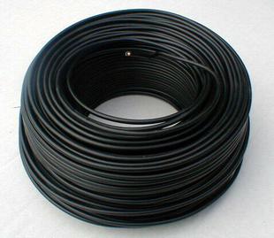 Câble électrique rigide unifilaire H07VU diam.1,5mm² coloris noir en couronne de 10m - Gedimat.fr