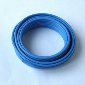 Câble électrique rigide unifilaire H07VU diam.2,5mm² coloris bleu en couronne de 5m - Gedimat.fr