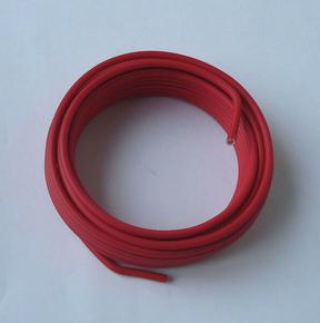 Câble électrique rigide unifilaire H07VU diam.6mm² coloris rouge en couronne de 10m - Gedimat.fr