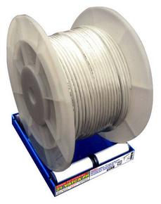 Câble HI-FI section 2x1,5mm² coloris transparent vendu à la coupe au ml - Gedimat.fr
