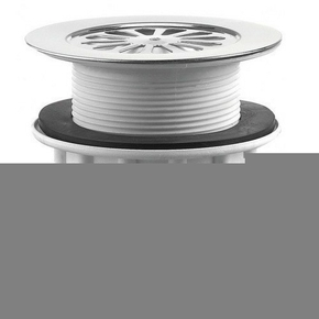bonde de douche grille marguerite avec sortie verticale pour receveur. Black Bedroom Furniture Sets. Home Design Ideas