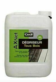 Nettoyant dégriseur exterieur AX NET pour bois bidon de 5L - Gedimat.fr