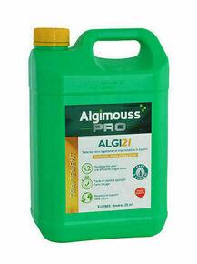 Antimousse et imperméabilisant ALGI21 toitures murs et façades phase solvant bidon de 5L - Gedimat.fr