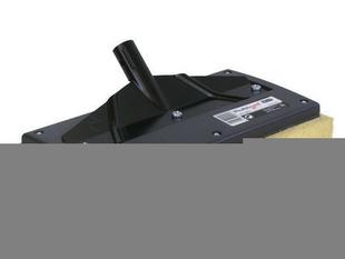Frottoir plat de carreleur larg.13cm long.29cm avec éponge et manche aluminium - Gedimat.fr