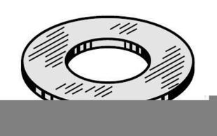 Rondelle plate inox ép.1mm diam.14x6mm - boite de 100 pièces - Gedimat.fr