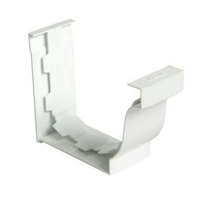 Jonction pour gouttière PVC corniche moulurée NICOLL ELITE coloris blanc - Gedimat.fr