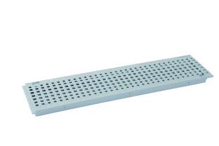 grille pvc pour caniveau nicoll gr77p gamme connecto mod le piscine coloris gris clair long 0 5m. Black Bedroom Furniture Sets. Home Design Ideas